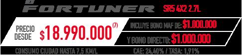 Toyota 4Runner PRECIO DESDE $18.990.000 INCLUYE BONO MAF DE: $1.000.000 Y BONO DIRECTO: $1.000.000 en Indumotora One