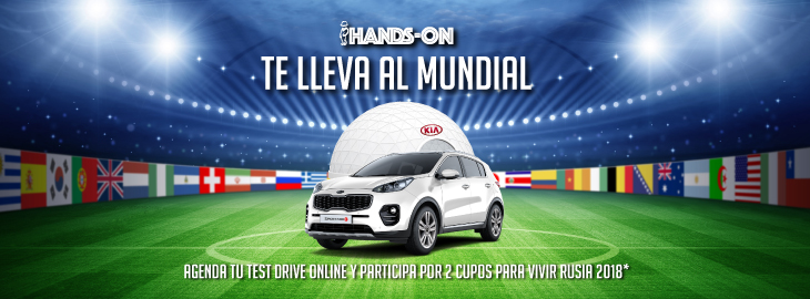 KIA LANZA NUEVA PLATAFORMA DIGITAL  'HANDS ON '