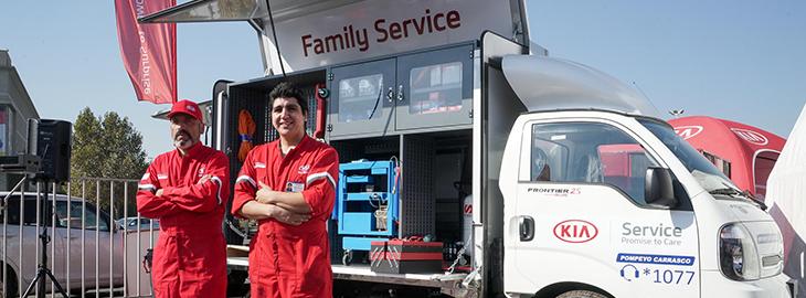 Junto a Pompeyo Carrasco:  CAR SERVICE: LA NUEVA APUESTA DE KIA