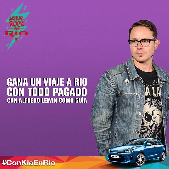"SIGUE ""LA RUTA DEL ROCK CON RIO"" JUNTO AL ALL-NEW KIA RIO5"
