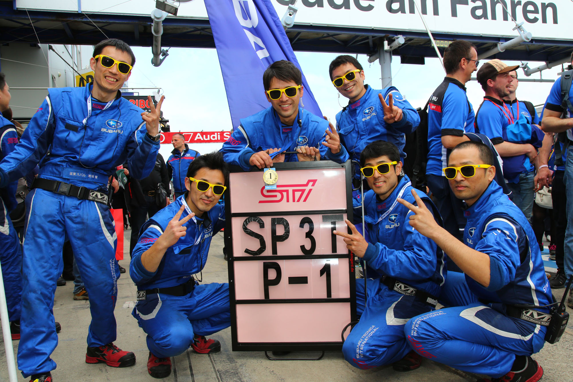 Subaru WRX STI alcanza por segundo año consecutivo, el triunfo en las 24 Horas de Nürburgring