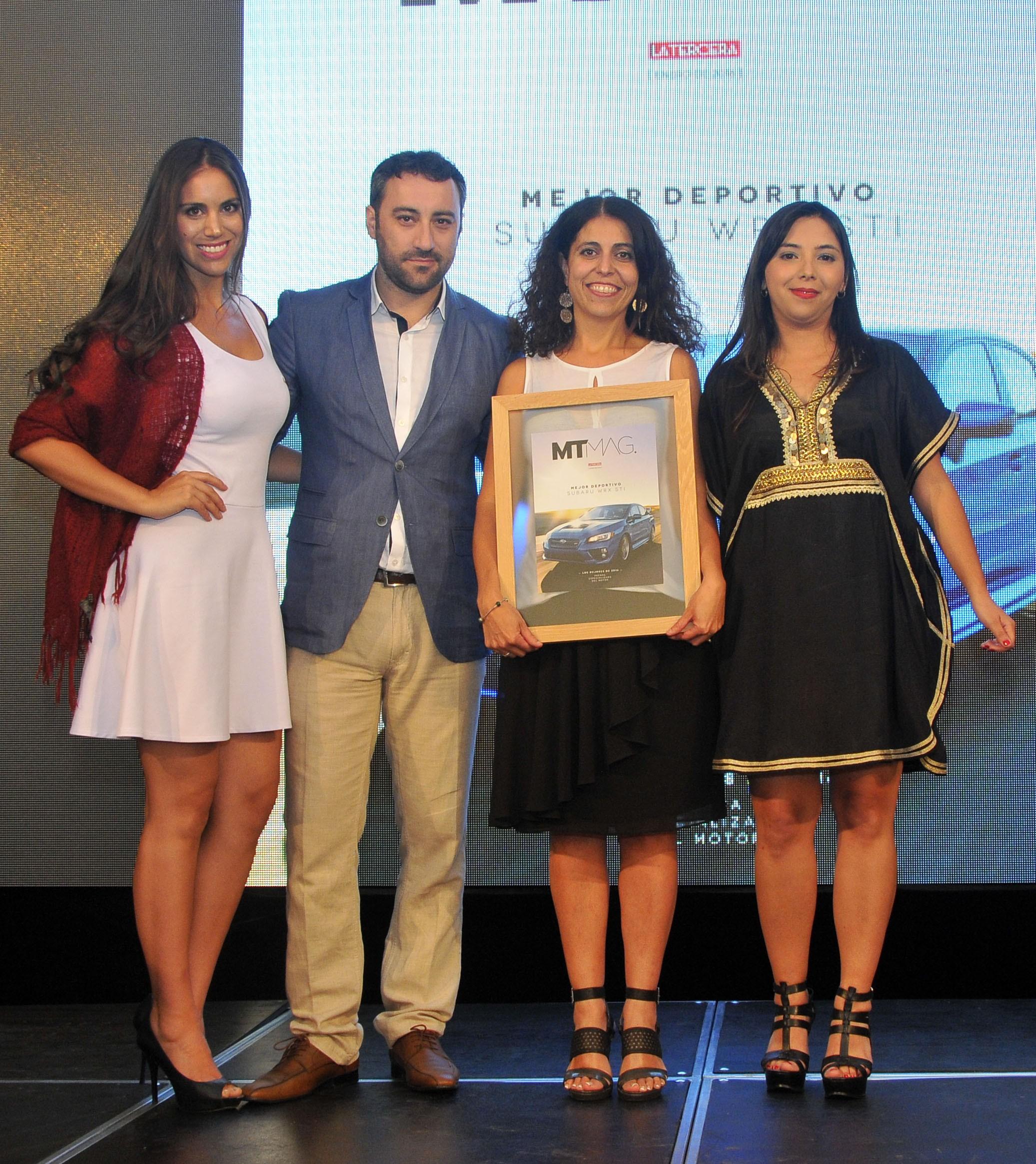 """Subaru WRX STI, escogido """"Mejor Deportivo del Año 2016"""" en Chile"""